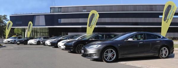 Tesla-Car-Rent hat seinen Fuhrpark um ein Model 3 SR+ ...